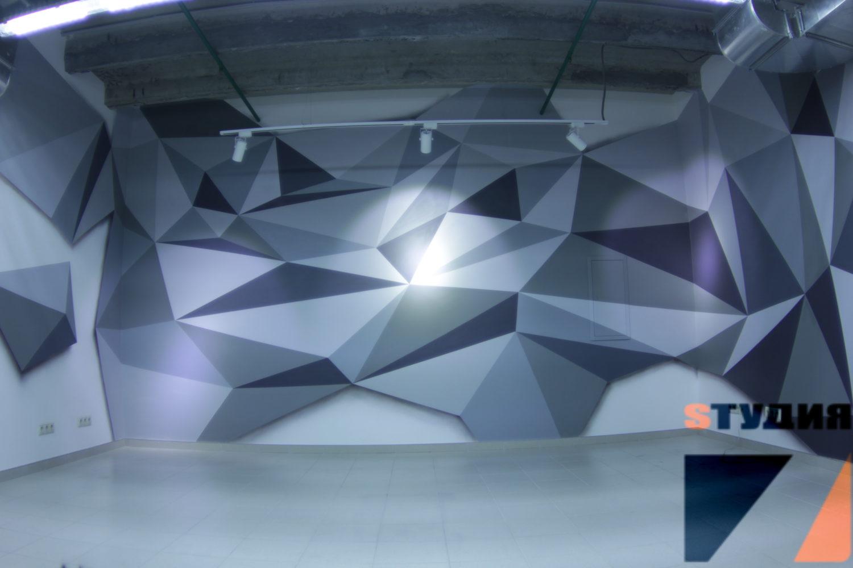 Роспись стен Кухня