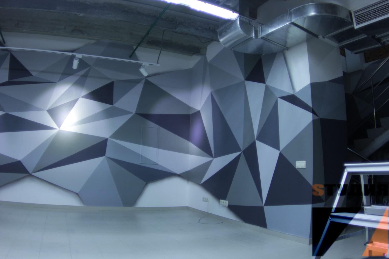 Роспись стен Шоурум *непронефть