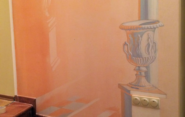 Роспись стен в частном доме