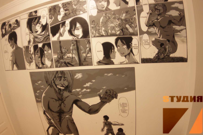 Роспись стен Роспись детской в стиле аниме «Атака Титанов»