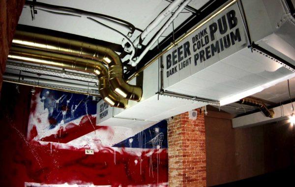 Роспись паба Beerhouse г. Королев