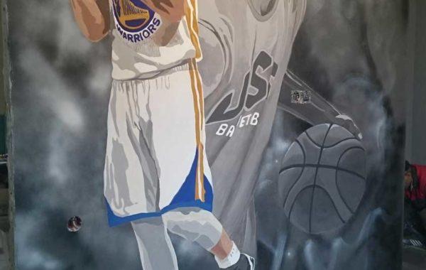 Баскетболист в детской