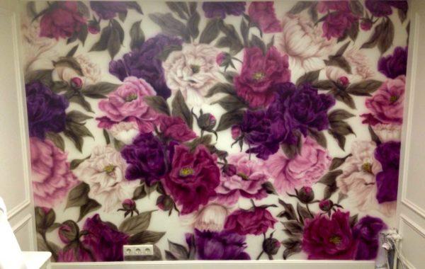 Цветы в салоне красоты