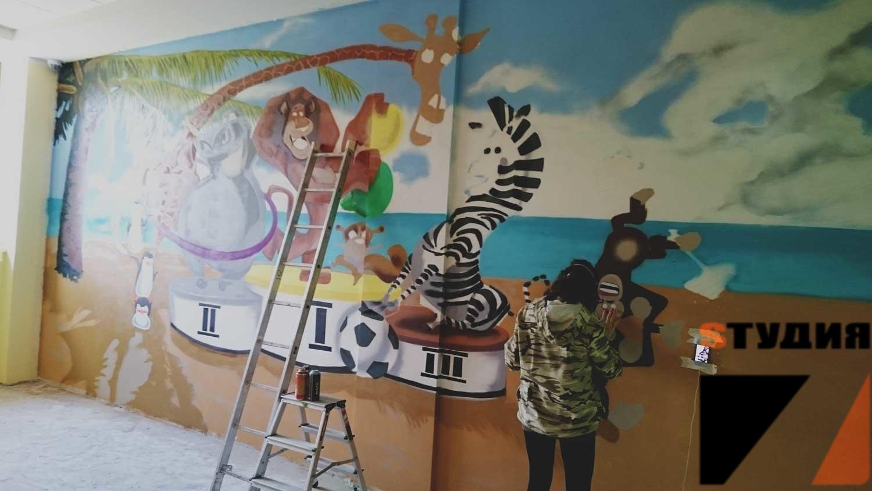 Роспись стен Мадагаскар