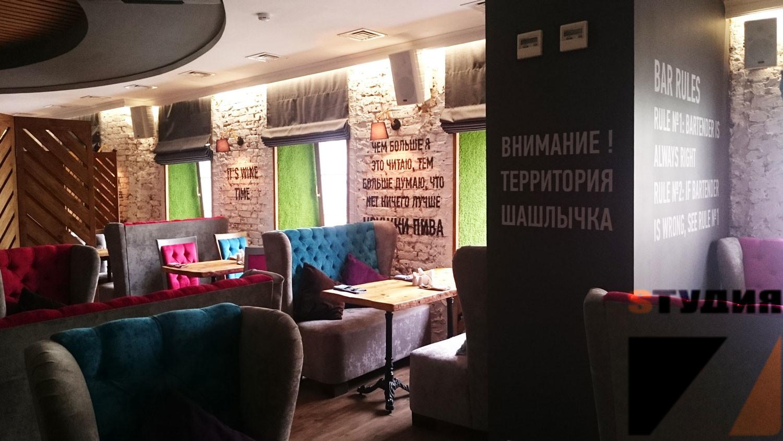 Роспись стен Кафе & Гриль «Шашлычок»