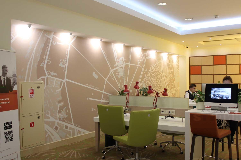 Роспись стен Оформление в гостиницах Holiday Inn