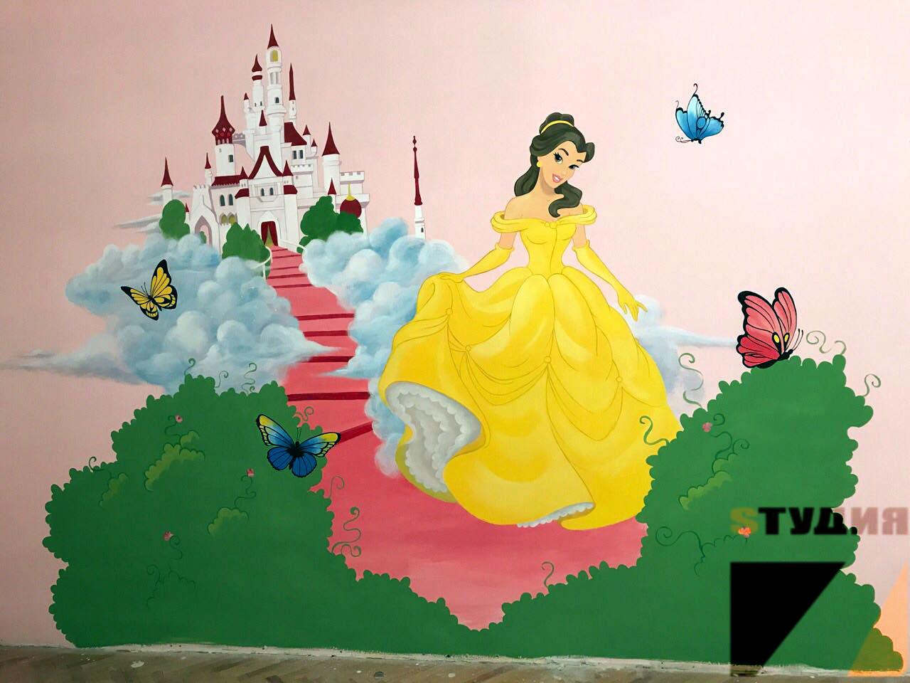 Роспись стен Детский сад «Остров сокровищ»