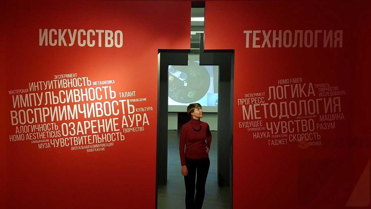 Роспись стен Злотников Ю.С. выставка в центре современного искусства