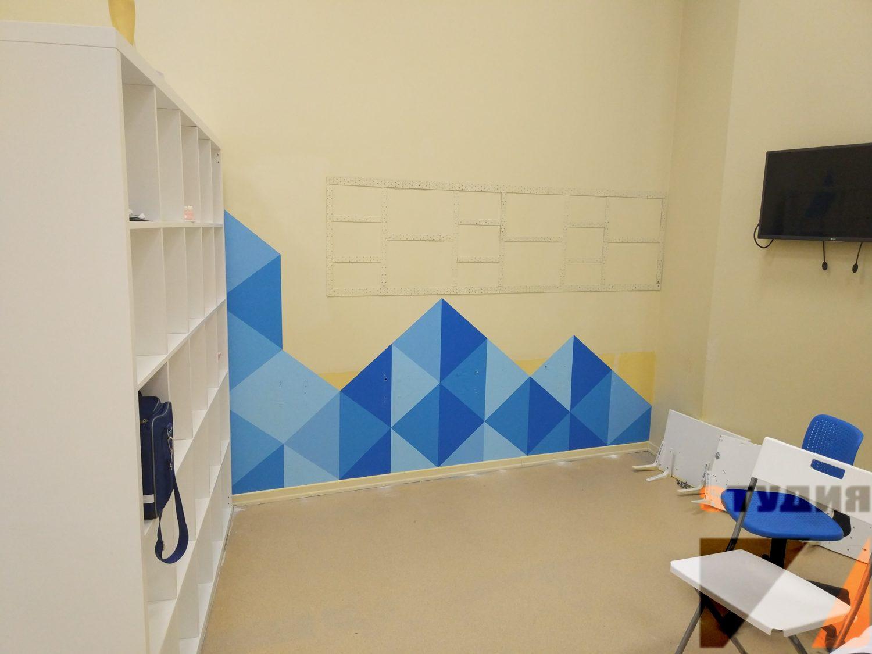 Роспись стен Поликлиника Кидбург Ривьера