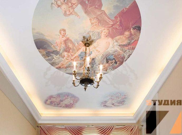Роспись стен Cтили художественной настенной росписи