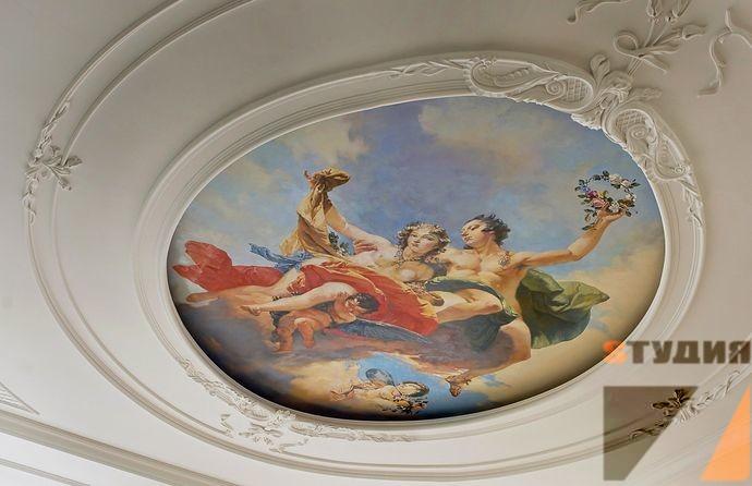 Неординарный барокко роспись