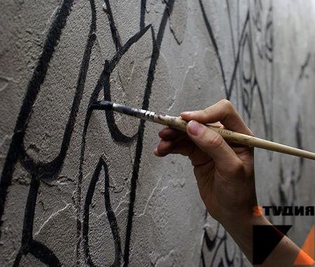 Роспись стен Какими красками расписывают стены