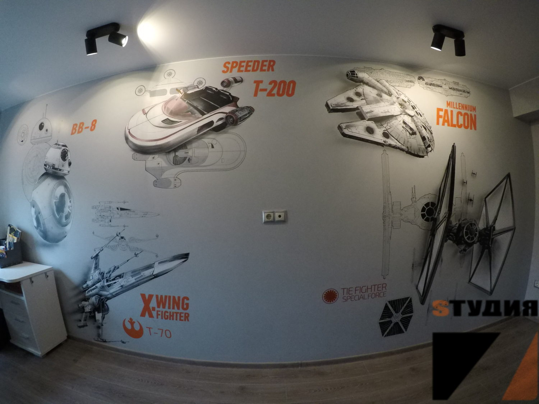 Роспись стен Главная