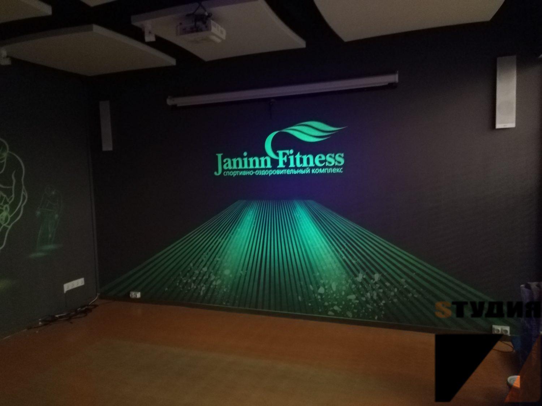 Роспись в фитнес студии