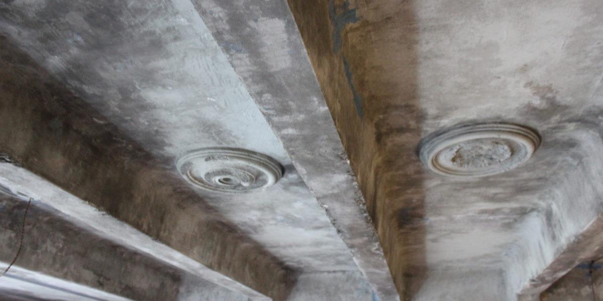 Арка портрет потолок