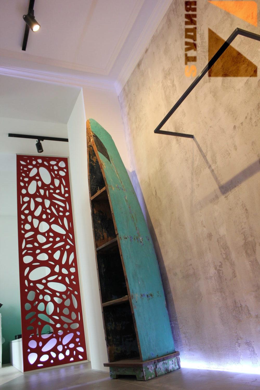Роспись стен Элементы лофт декора в квартире