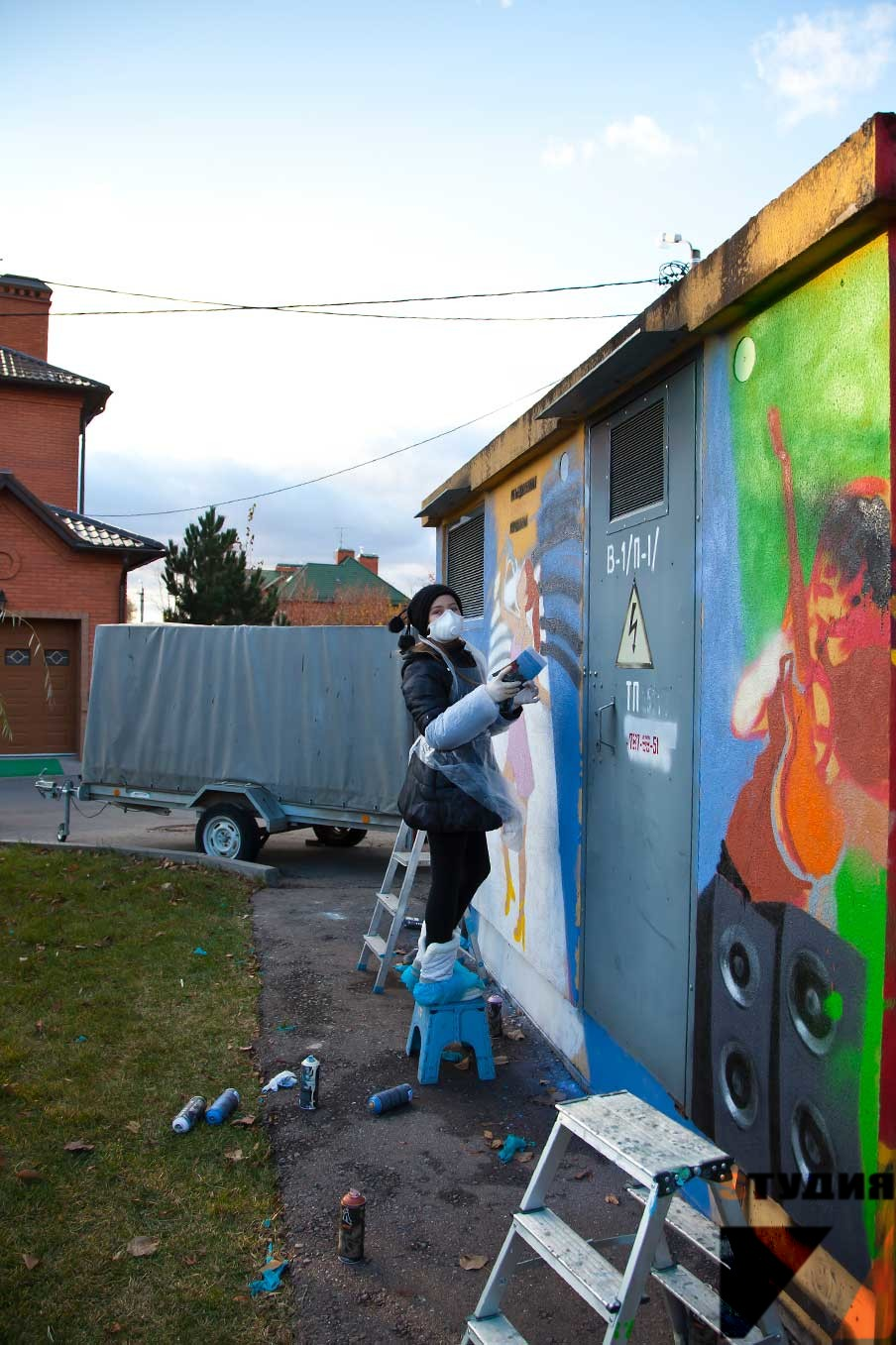 Мастер класс граффити