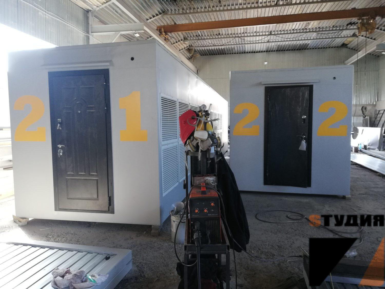 Роспись стен Брендирование морского контейнера для BitCluster