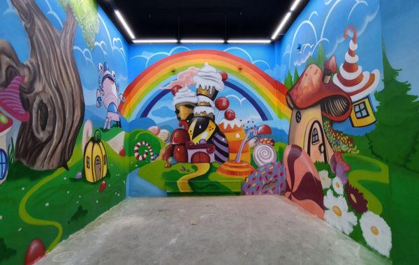 Роспись парка Чайленд в г Саратов