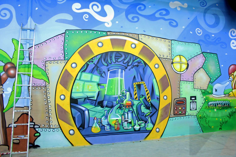 Оформление парка развлечений Чайлэнд в г.Тула