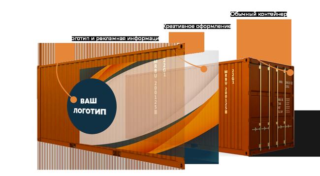 Роспись стен Оформление морских контейнеров