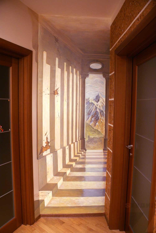Роспись стен Кистевая роспись