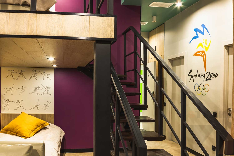 Роспись стен Роспись стен отеля
