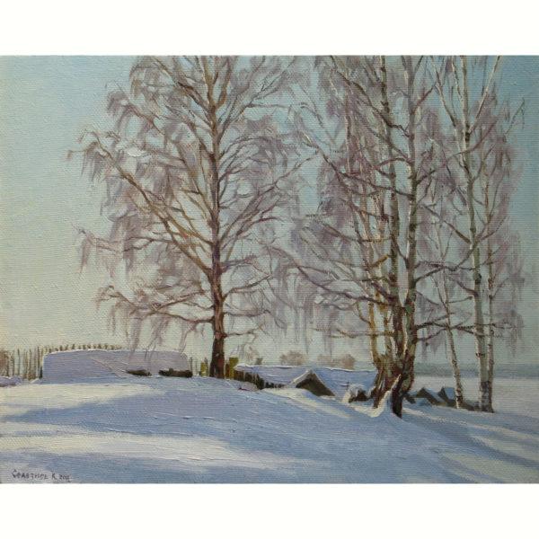 Русская-зима.40х50.40000р.