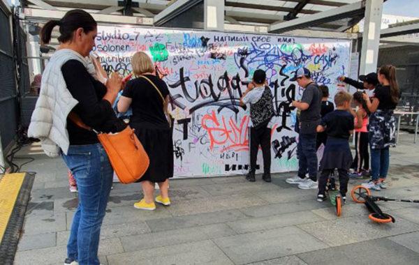 Роспись стен Мастер-класс Граффити
