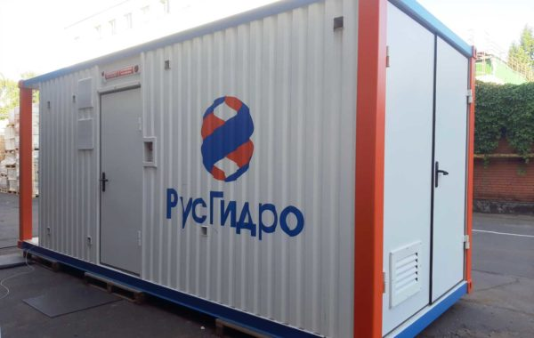 Нвнесение логотипа на контейнер